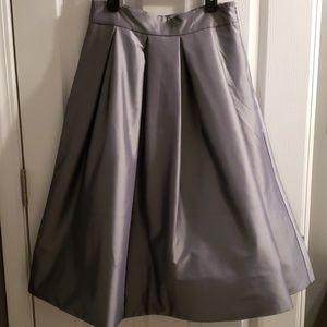 Whbm Taffeta Full Midi Skirt